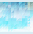 abstract background of blue triangles vector image vector image