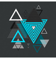 abstract hipster polygon triangle background