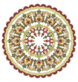 Antique ottoman turkish pattern design twenty four vector image vector image