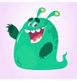 cool cartoon monster vector image