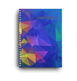 Copybook isolated vector image