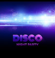 Disco background with discoball
