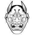 kabuki 2 vector image vector image