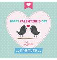Romantic card24 vector image vector image