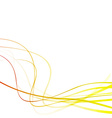 Speed stream swoosh wave lines background template vector image