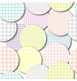 Abstract arc pattern vector image vector image