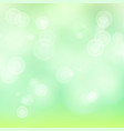 light green background bokeh background vector image vector image
