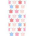 seamless texture with delicate tulips paper vector image vector image