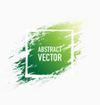 abstract splash green vector image vector image