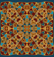 bright colored handkerchief vector image vector image