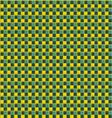 greenyellowpattern vector image vector image