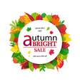 hello autumn sale vector image