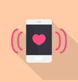 love call icon set of great flat icons with vector image