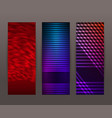 set vertical banner background template layout