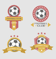 Soccer Football Badges vector image