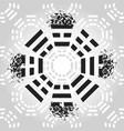 bagua symbol vector image