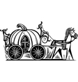 Cinderellas Carriage vector image vector image