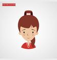 girl icon avatar vector image