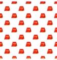 Passport pattern cartoon style vector image vector image