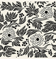 seamless floral pattern 3 vector image vector image
