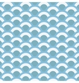Abstract sea waves pattern vector image vector image