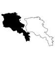 armenia map vector image vector image