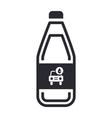 car soap icon vector image vector image