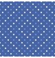 Polka dot seamless wallpaper or background vector image