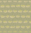 seamless pattern of crocodile vector image vector image