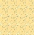 Sketch scissors in vintage style vector image vector image