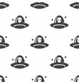 ufo seamless pattern vector image
