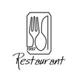 1987 restaurant white background vector image