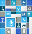 Construction infographic design vector image vector image