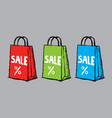 creative sale poster vector image vector image