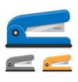 office stapler flat icon vector image