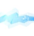Team communication concept geometric background vector image