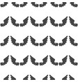 wings seamless pattern vector image vector image