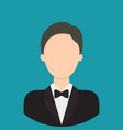 butler characte icon great of character use for vector image vector image