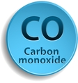 Carbon monoxide vector image vector image