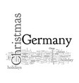 cheap holidays in germany vector image vector image
