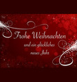 christmas snowflakes on red bokeh background vector image vector image