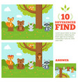 Educational game for kids with funny forest