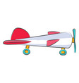 helicopter toy or color vector image vector image