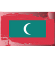 Maldives national flag vector image vector image