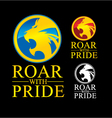 Roar With Pride vector image vector image