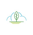 weather control climate change logo icon simple vector image vector image