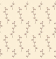 abstract seamless floral pattern in doodle style vector image