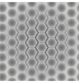 abstract seamless pattern hexagons vector image vector image