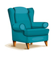 armchair icon cartoon style vector image
