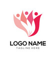 beauty and fashion logo design and icon vector image